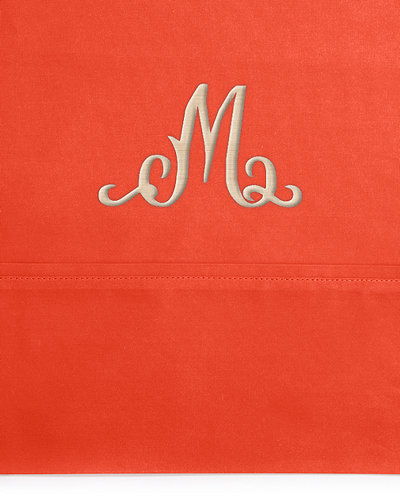 Two King 464TC Solid-Color Pillowcases