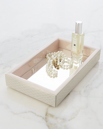 Pacific Mirrored Vanity Tray