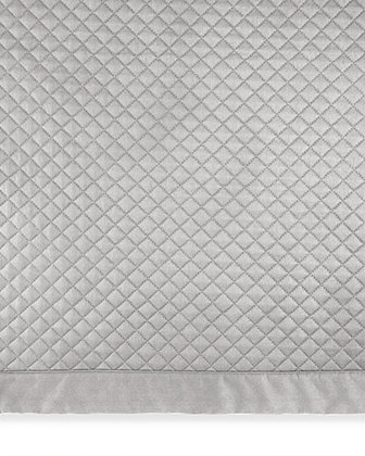 Full/Queen Diamond-Quilted Wyatt Coverlet