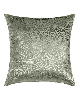 Grazia Burnout Velvet Pillow, 20