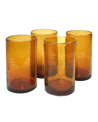 Iris Highballs, Set of 4