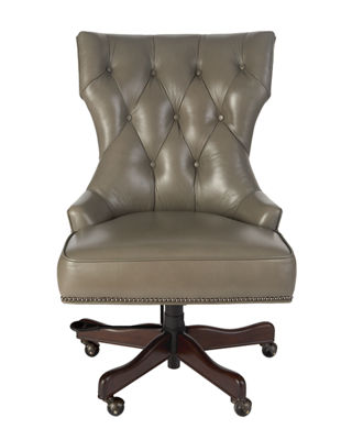 hooker furniture conroy leather office chair
