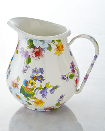 Flower Market Pitcher