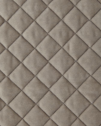 Queen Elite Quilted Velvet Coverlet
