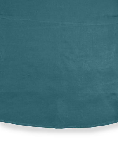 Hemstitched Round Tablecloth, 90