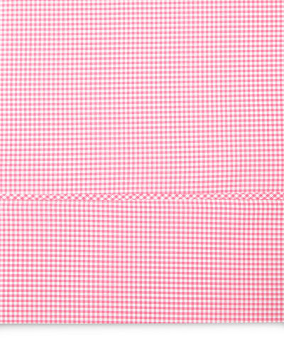 Two Standard Gingham Pillowcases