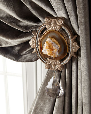 6009 Parker Each Paris Geode Curtain Tieback