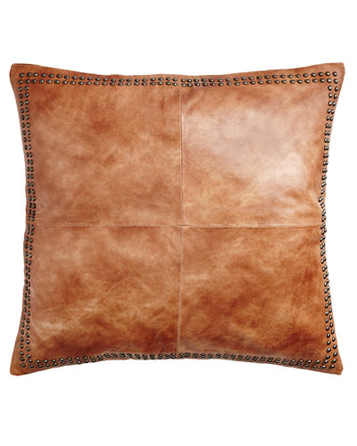 Dohni Leather Sham, 26