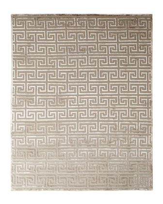 Jay Greek-Key Rug, 10' x 14'