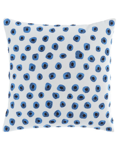 Thumbprint Embroidered Pillow, 20