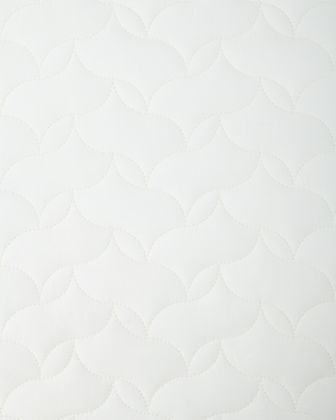 European Quilted Percale Sham