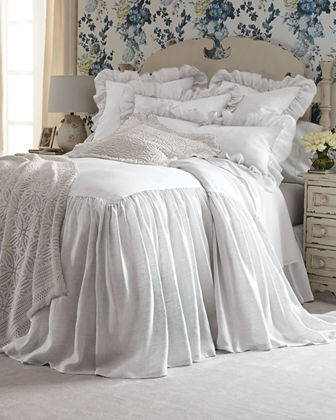 Queen Savannah Skirted Coverlet