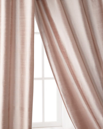 "Radiance Silk Curtain, 120""L"
