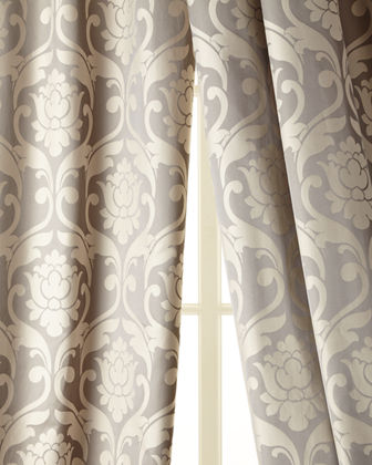 Each Charleston Damask Curtain, 52