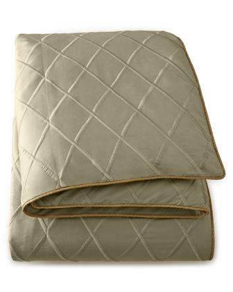 Dian Austin Couture Home King Diamond-Trellis Duvet Cover