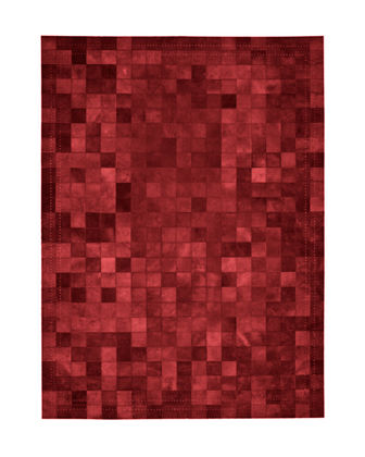 NourCouture Medley Hairhide Rug, 4' x 6'