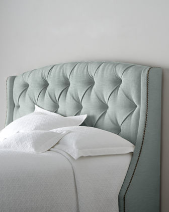 Rami Wing Queen Tufted Headboard