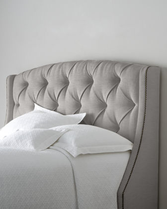 Rami Wing King Tufted Headboard
