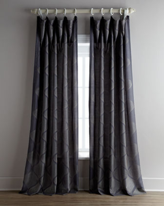 "Each 55""W x 96""L Bora Curtain"