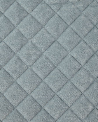 Elite King Quilted Velvet Coverlet