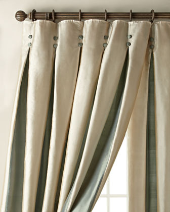 Each 96L Inverted Pleat Curtain