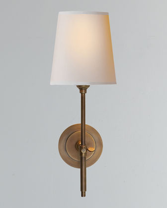 TOB by Thomas O'Brien Bryant Sconce with Bronze