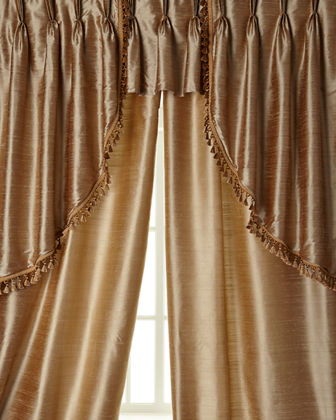 "Each Center Valance, 27""W x 18""L"