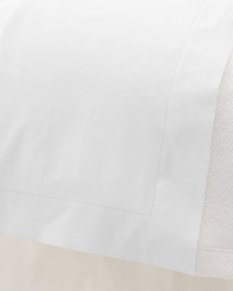 Queen 500 Thread Count Lia Flat Sheet