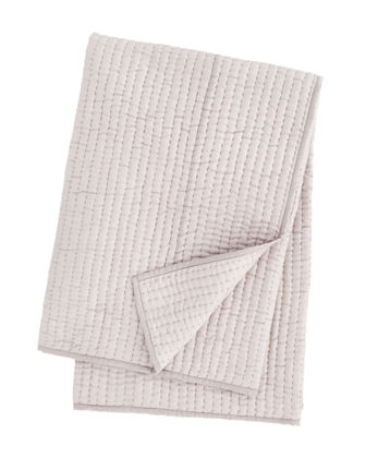 Seta Quilted Silk Throw