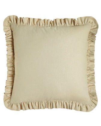 European Monterey Solid-Color Sham