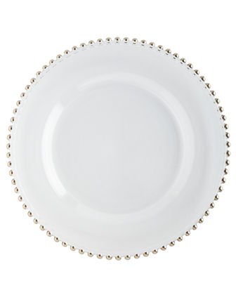 Beaded-Rim Charger Plate
