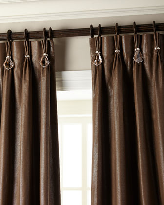 108L Shimmer Curtain with Asfour Crystals