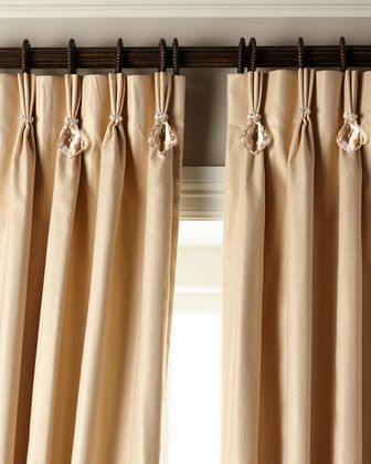 "120""L Shimmer Curtain with Asfour Crystals"