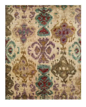 "Majesty Hand Knotted Jute Rug, 9.6"" x 13.6"""