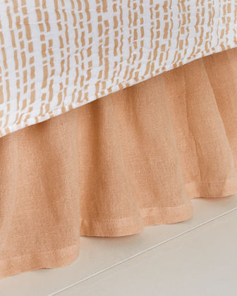 Queen Stone Washed Dust Skirt