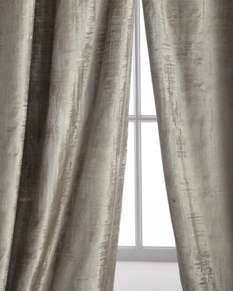 Two 120L Moderne Curtains