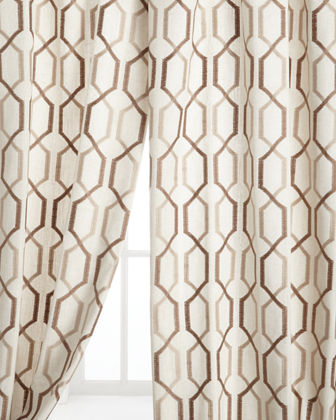 "Each 54""W x 108""L Maxwell Curtain"