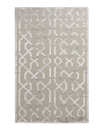 Exquisite Rugs Grimmie Geometric Rug, 8' x 10'