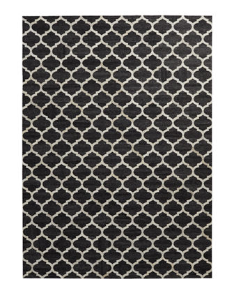 "Samovar Hairhide Rug, 9'6"" x 13'6"""