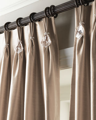 Misti Thomas Modern Luxuries Pinch Pleat Curtains