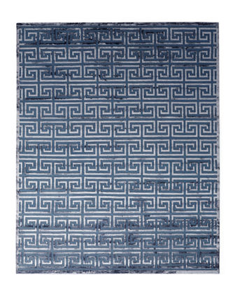 Exquisite Rugs Jay Greek Key Rug, 8' x