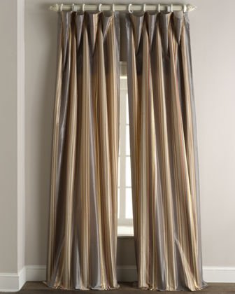 "Each Sienna Curtain, 108""L"