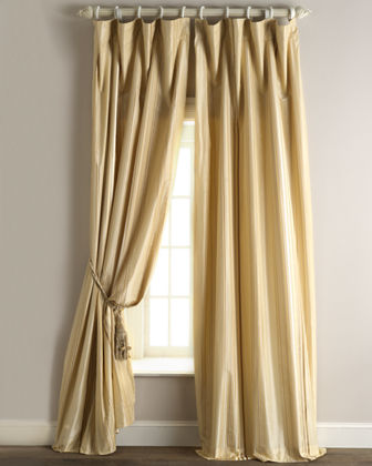 "Each Sienna Curtain, 96""L"