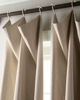 Each 108L Tie-Top Curtain