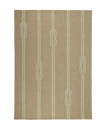 "Knot & Rope Indoor/Outdoor Rug, 7'6"" x 9'6"""