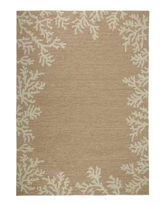 "Coral Reef Indoor/Outdoor Rug, 3'6"" x 5'6"""