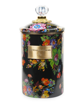 MacKenzie-Childs Flower Market Canister, Large