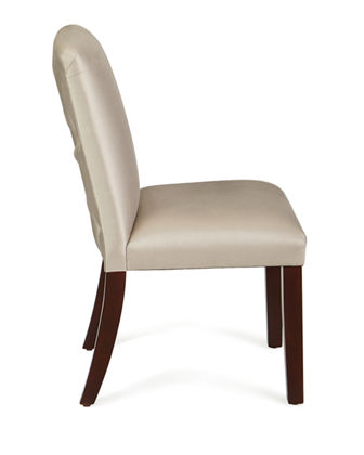 Alain Diamond-Tufted Dining Chair
