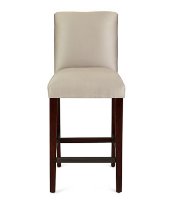 Alain Diamond-Tufted Bar Stool