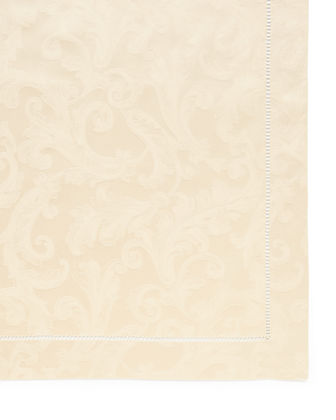 "Plume Jacquard 70"" x 108"" Tablecloth"
